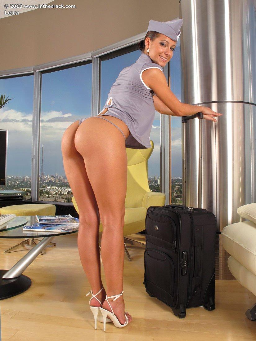Фото секси стюардессы