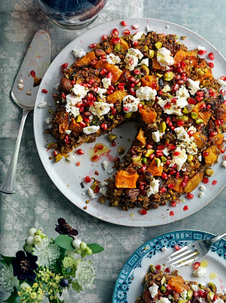 Today's #RecipeoftheDay is this BRASH, PUNCHY Persian squash & pistachio nut roast: https://t.co/S5Nc42Mx2w https://t.co/fiLKBNCiv1