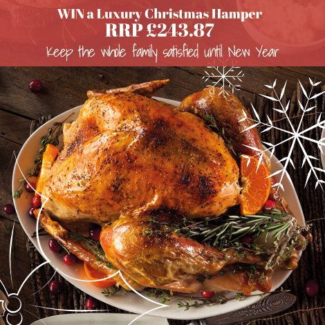 WIN Christmas Dinner!  RT and FOLLOW for a chance to win!   Shop our Christmas Hampers: https://t.co/hMPMt2jsBh https://t.co/JALit2IGee