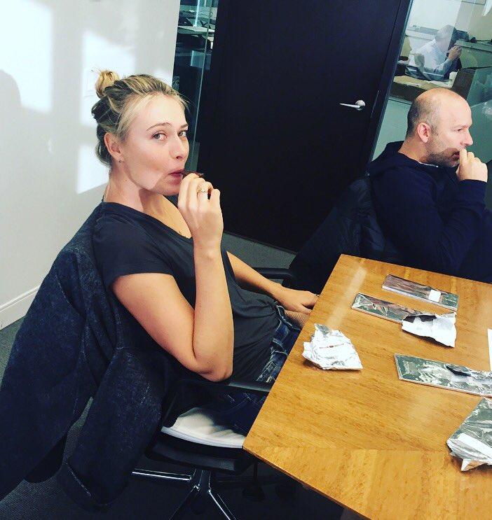 Hard at work testing @Sugarpova chocolate #ComingSoon https://t.co/sY6AveSjqq