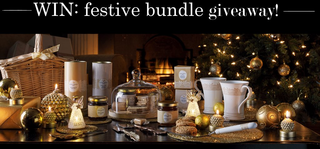 Feeling festive? We are! To celebrate we're giving away a Christmas bundle worth £150. Just RT & follow to #WIN https://t.co/hKkJJnT5LP