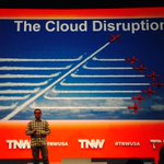 Our own Chief Architect @jbarratt talking about the Cloud, right now at #TNWUSA in #NYC https://t.co/ElaJLp9Kkh