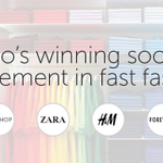 RT @socialmedia2day: A look at the top-performing #FastFashion brands (Zara, H&M, Forever 21, Topshop): https://t.co/MKkOIm2AEN #SMM https:…