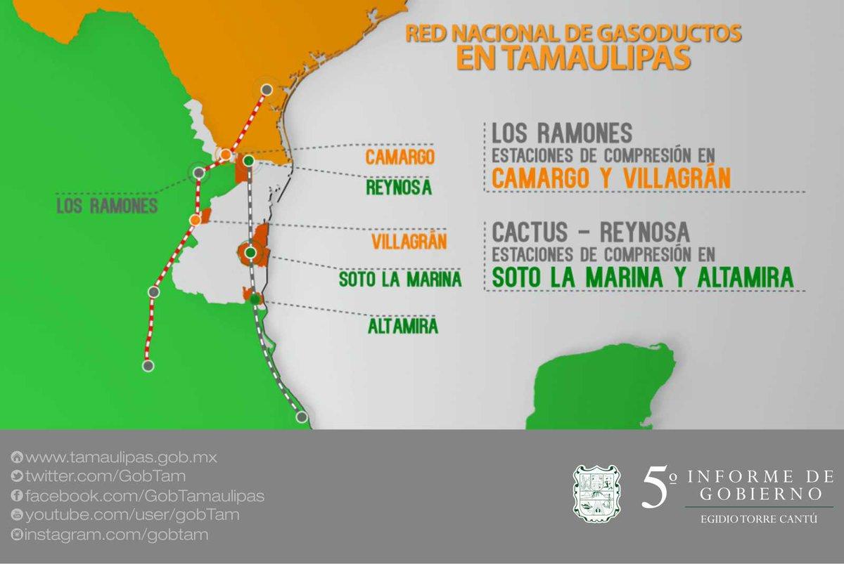 En #Tamaulipas estamos fortaleciendo la red nacional de ductos para abastecer a varios Entidades.   #VInformeETC https://t.co/1BNFfXPwsz