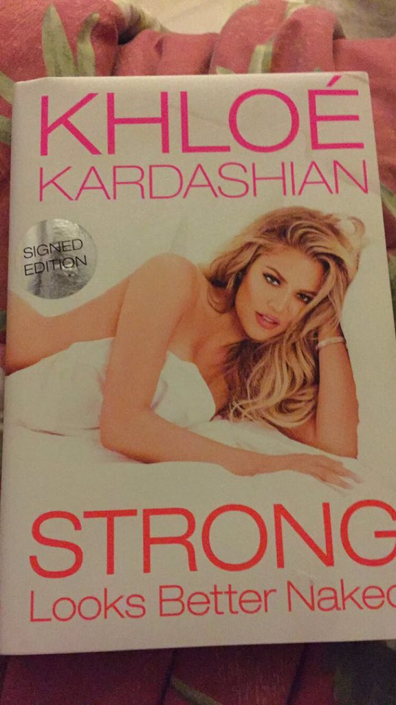 RT @Timothy_Rizzo: Literally just got a gym membership such a good book???? @khloekardashian #StrongLooksBetterNaked https://t.co/VuD7ddOJp9