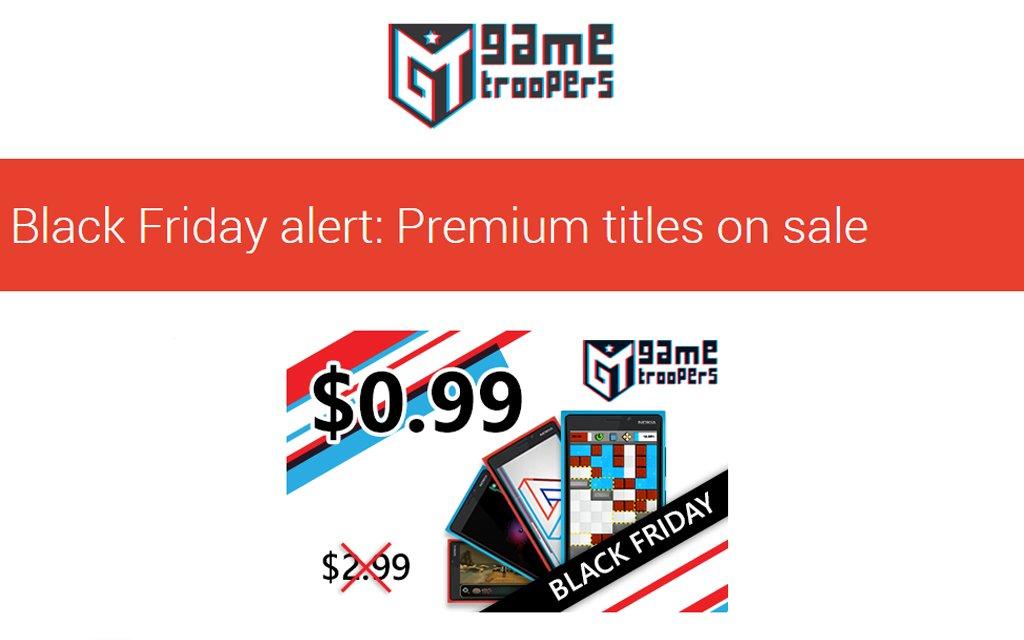 #GameTroopers Black Friday Sale https://t.co/B6JgLlQ3cG by @shantesh https://t.co/zX3D6aOeZw