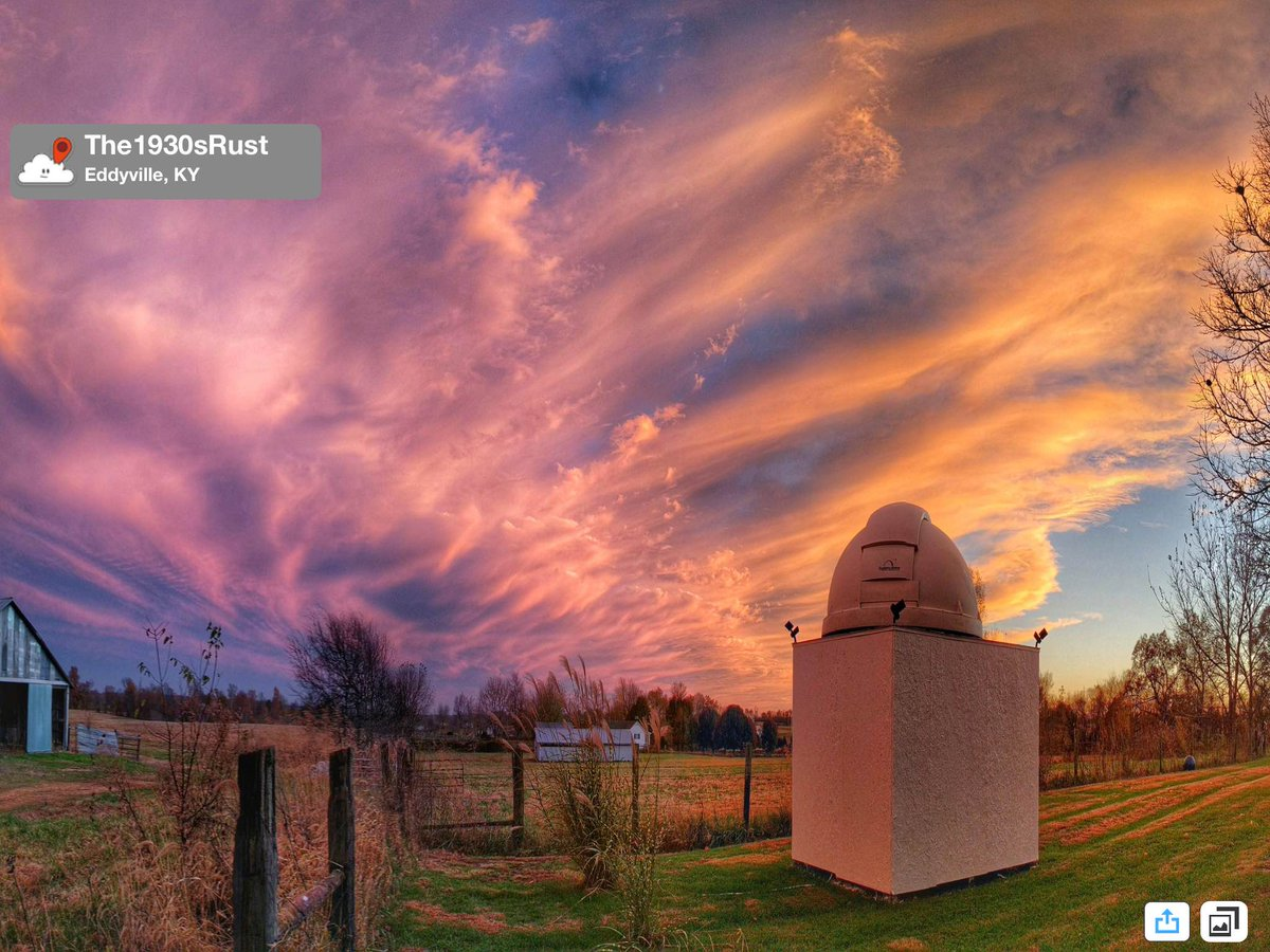 #PicOfTheDay is an unbelievable sunset from Eddyville by @StormPins user The1930sRust. @JimCantore #WPSDWx #KYwx https://t.co/QB7SXvbbvH