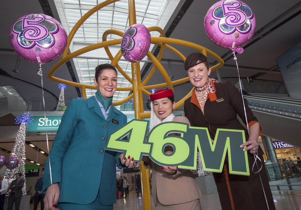 Terminal 2 has welcomed 46 million passengers since it opened 5 years ago today.