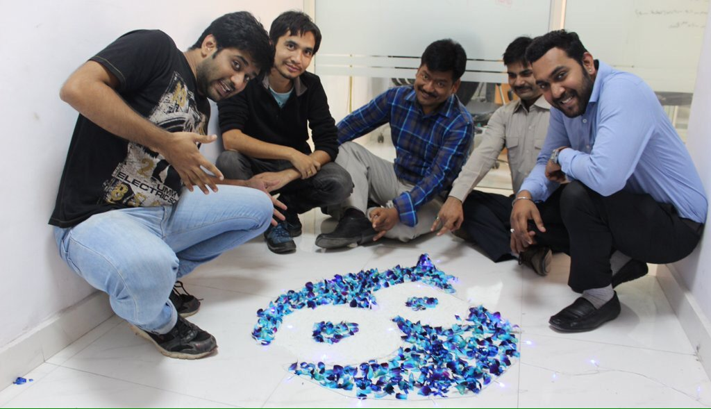Today let's paint the whole world Drupal #Celebr8D8. 8 is coming. https://t.co/krrmpC8kaP
