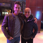 RT @htcity: .@AnupamPkher shooting with @GerardButler​ for Headhunter's Calling in Toronto. https://t.co/ISxLNXIrKZ