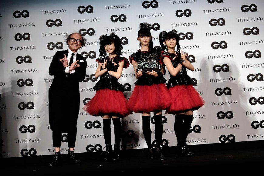 ベビーメタルファンの方へ「GQ Men of the Year 2015」での三人 https://t.co/xusFlUJA0T #gqmoty #babymetal #ベビーメタル @babymetal_japan https://t.co/6KYNzTKajG