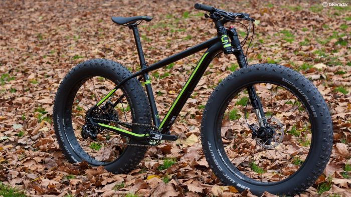 FIRST LOOK - @RideCannondale Fat Bike and of course a lefty fork! https://t.co/28HxnjLkzy @bikeradar https://t.co/9D21uRMP3f