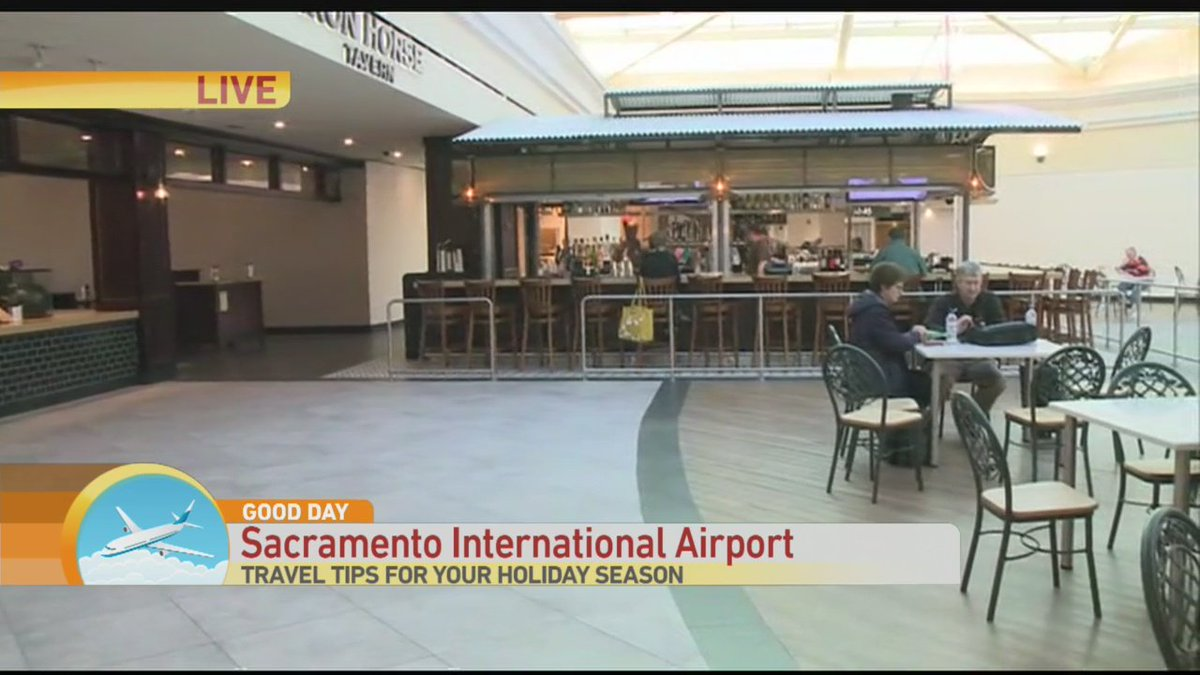 RT @dcap22803: .@tvJulissa_Tina continued at @SacIntlAirport on @GoodDaySac checking out New Restaurants https://t.…