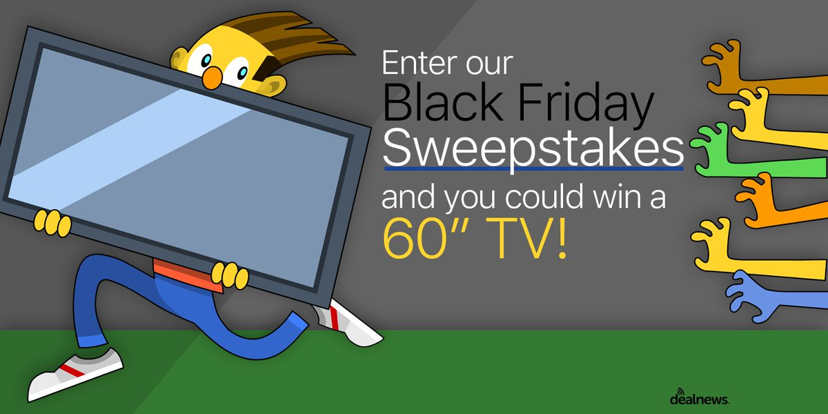 "Want to avoid the crowds? Win a 60"" HDTV this #BlackFriday in our latest #sweepstakes! RT https://t.co/EIz08XwxPn https://t.co/WxV2GfkEzX"