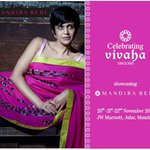 RT @mandiradesigns: We are going to be at #Vivaha2015 with @MTheStore and @mandybedi ! Do visit us :) https://t.co/7tFC9KkG4V