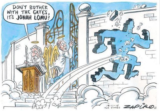 CARTOON: @zapiro on @AllBlacks legend #JonahLomu. https://t.co/EvVfE7fjeK