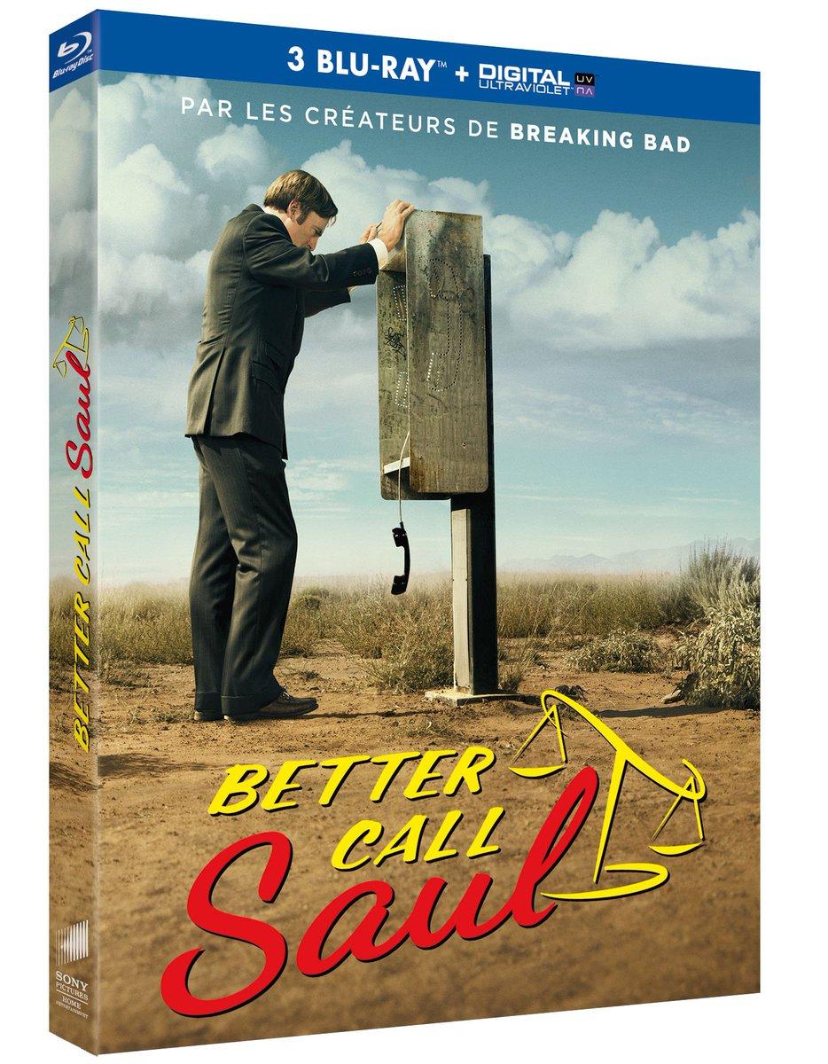 FOLLOW + RT pour gagner 2 BR de BETTER CALL SAUL S1 (sortie le 18/11) + 2 clés USB #concours #BetterCallSaul https://t.co/0NW0lW8nN3