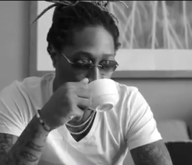 That awkward moment when Future drops the Rich $ex video feat. Blac Chyna on Tygas birthday