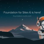 Speed up your client websites with new launch of Foundation 6: https://t.co/WO5s38Kh4J https://t.co/fKYkc89hRY