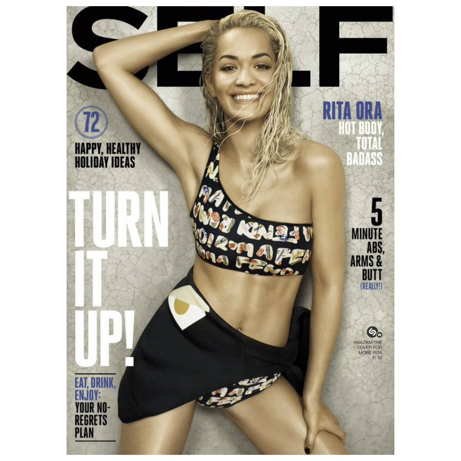 RT @NextModels: Body on Rita — @RitaOra turns it up on the December 2015 cover of @SELFmagazine. Visit https://t.co/lofngzlYmP. https://t.c…