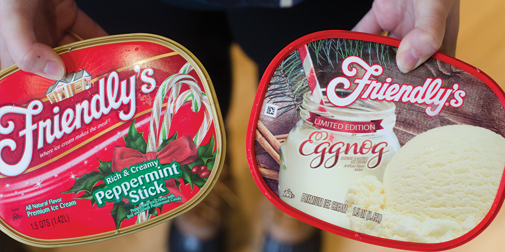 Want a chance to win a $25 gift card? RT + tell us which (Eggnog or Peppermint Stick) ice cream is your favorite! https://t.co/MuhzCPvHNZ