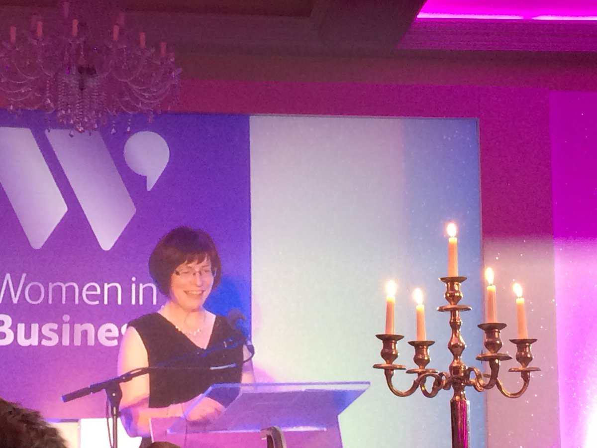 History maker Madam Justice Denise McBride inspiring 400 women and men at the #WIBAwards https://t.co/1I18iTXIlm