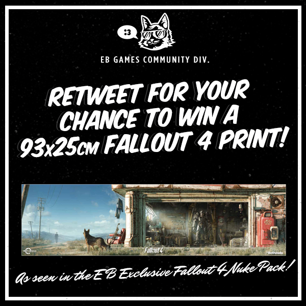 Wanna get your hands on one of these sweet #Fallout4 posters? Retweet for your chance to win! https://t.co/LO7r7JVm3h