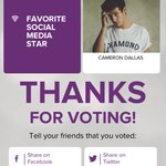 vote for @camerondallas to PCAs 2016! Cast your vote: https://t.co/P84qByqieq   #CameronDallasForPCA https://t.co/0Zdt1K3KlO