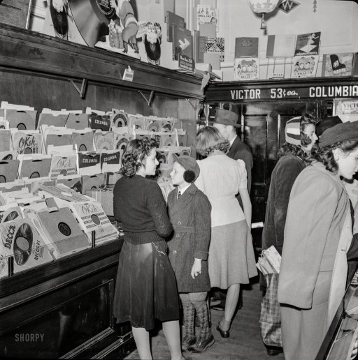 Christmas shopping in Woolworth's record department, 1941 Washington, D.C. https://t.co/ezUi3X3wQr John Collier https://t.co/0JueFLZY74