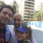 RT @Maheshbhupathi: Practice on for the mixed doubles event in Kolkata on the 25... @MirzaSania https://t.co/v5jairaytJ