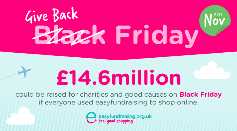 WIN a £50 donations for a good cause. RT & tell us why they deserve it with #GiveBackFriday https://t.co/TlECpnuCQn https://t.co/cSMpCKGJ8d