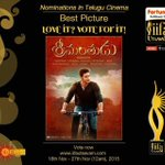 RT @GeminiTV: Vote For #Srimanthudu as a Best Telugu Film in #IIFAUtsavam. Click https://t.co/7ifsRwPYSJ and vote right away!!! https://t.c…