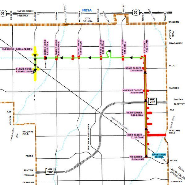 Gilbert Day's Parade is tomorrow. We will be open, but take note of the road closures.  #c… https://t.co/MMU79s7w0m https://t.co/r157tT4gQW