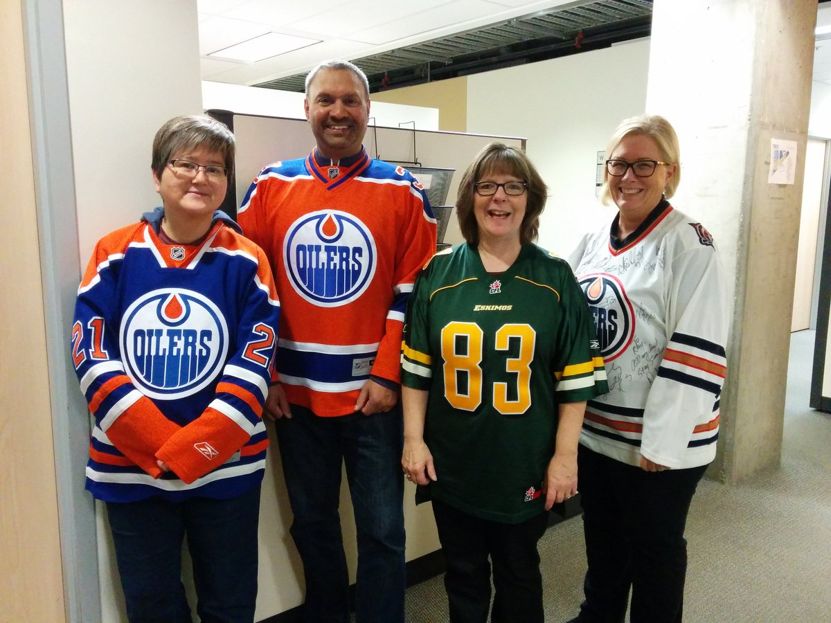Repping Edmonton, hard. #nationaljerseyday @NAITOoksRec https://t.co/DUVLgyg5uy