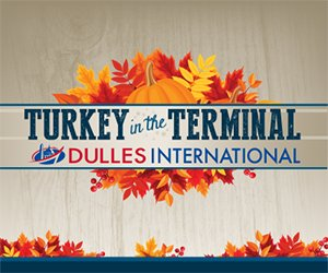 Can't wait for Thursday? Have some TurkeyintheTerminal today!