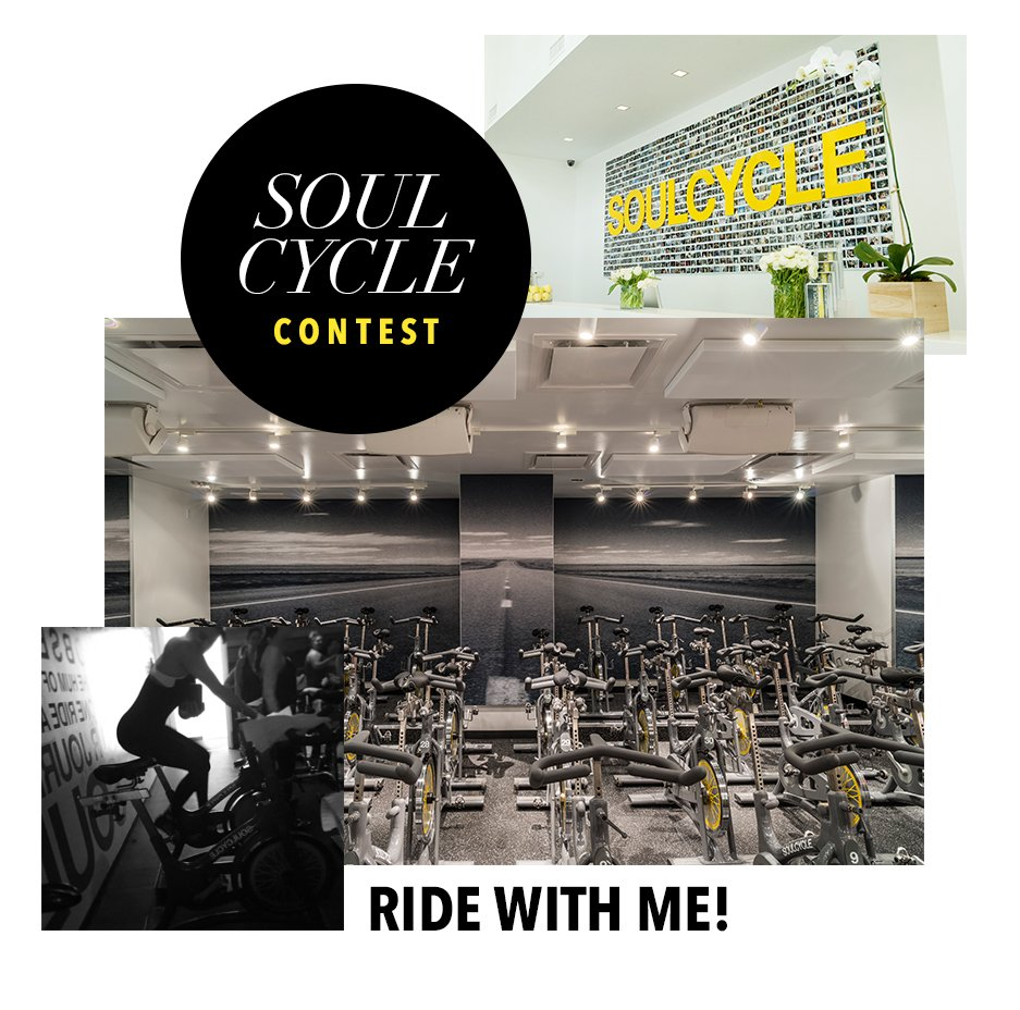 Dolls! 50 of my app subs can enter for a chance to ride w/ me @soulcycle LA on 11/29/15!!! https://t.co/oOHO5fWQg4 https://t.co/4QrqKoZrY3