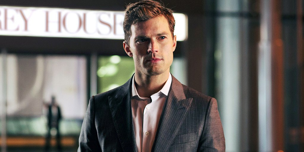 We could stare at Jamie Dornan all day long 😍