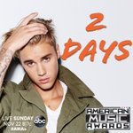 RT @TheAMAs: WHAT DO YOU MEAN?!  ONLY 2 DAYS 'TIL THE #AMAs!!  #BieberOnAMAs https://t.co/GphCFQl1Uh
