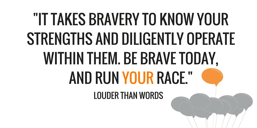 It takes bravery to chart your own course, even when others think you're crazy. Be brave. https://t.co/19swEEzZY3