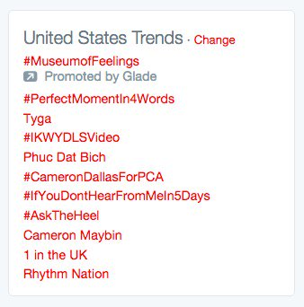 Hahaha trending in the USA!  Thank you :)  Rhythm Nation. @JanetJackson  @SpikeLSB @TheNightBefore_ https://t.co/keI2Xj9OdU