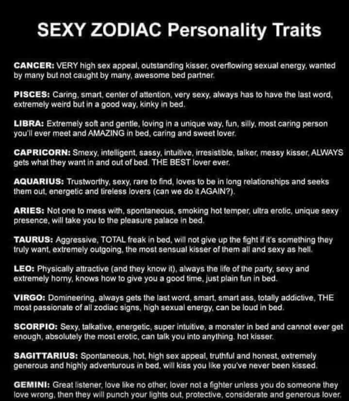 Virgo....all true, except I am more submissive than dominant...and yes loud... 😈💋 https://t.co/SFIA5WXb1D