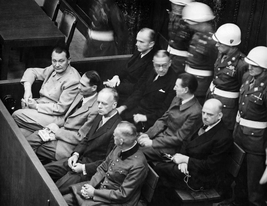 Nov 20, 1945 – Nuremberg Trials begin against 24 Nazi war criminals start at the Palace of Justice at Nuremberg. https://t.co/1YWsyw3S0E