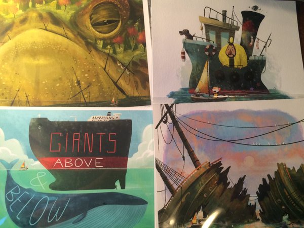 Alright let's do this. *Art Giveaway time* ! RT or Fav this tweet to enter in a chance to win one of these prints! ⚓ https://t.co/6NFmhbyDLz