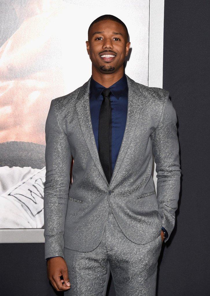 Grey Suit Navy Shirt - Hardon Clothes