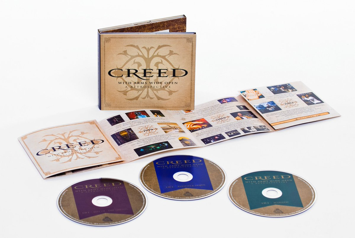 11/20 commemorates the 2001 release of #Creed's Weathered and now the new With Arms Wide Open: A Retrospective CD! https://t.co/kWTF39Inbb