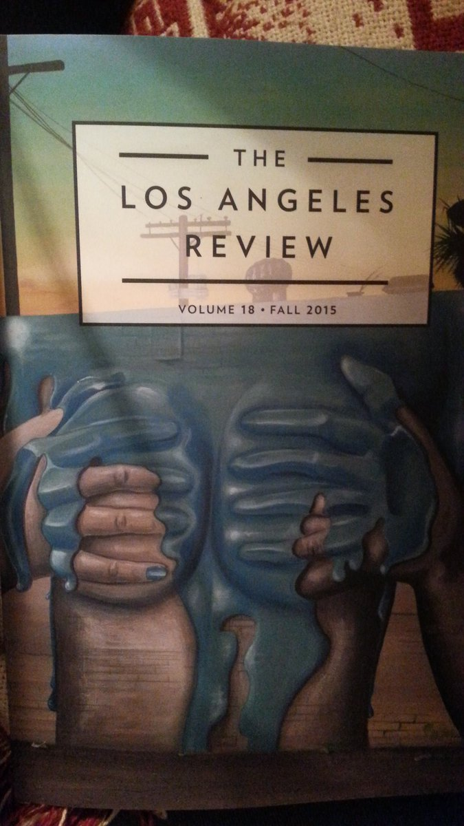 I'm in the latest Los Angeles Review so getcher copy NOW https://t.co/yhZ6bAeD6C