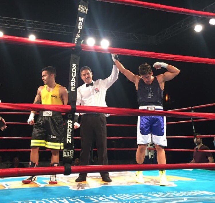 Battle Of The Badges Fdny V Nypd Boxing The Theater At