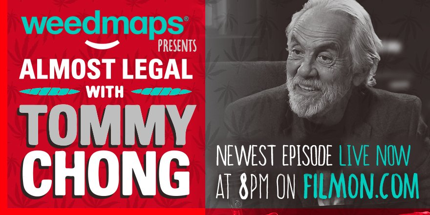 Don't miss tonights episode of Almost Legal with Tommy Chong on https://t.co/KcazqzkKp1 LIVE right now! https://t.co/5rWm6xdL9H