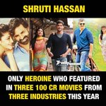 RT @karthikvnr8: Congrats @shrutihaasan for this wonderful year. All the best! https://t.co/lK8Ab7ePkE