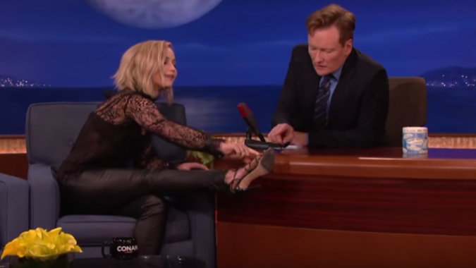 JenniferLawrence Dislocated Her Toe on 'Hunger Games' Press Tour